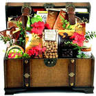 Village Chocolatier Deluxe Gift Basket Trunk
