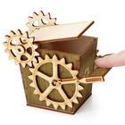 Steampunk Desktop Recycler Box