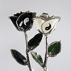 "11"" Yin-Yang Couple Roses"
