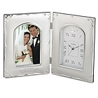 "4"" x 6"" Forever Yours Picture Frame and Clock"
