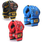 MMA Grappling and Boxing Leather Training Gloves