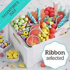 Sweet Surprises Gift Crate with Valentine's Day Ribbon