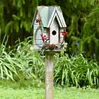 Grapevine and Berries Birdhouse with Stand