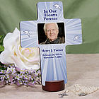 Personalized Memorial Photo Wall Cross