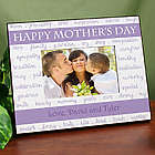 Personalized Mother's Day Printed Frame