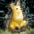 Fox Outdoor Solar Statue