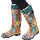 Butterfly Whirl Rainboots