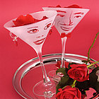 True Love Martini Glass Gift Set