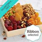 Simply Snacks Gift Crate with Valentine's Day Ribbon