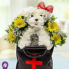 Get Well Pup Bouquet