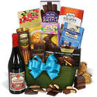 Red Wine and Dark Chocolate Easter Basket