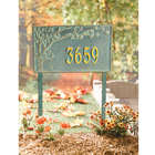 Cherry Blossoms Address Sign