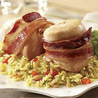 6 Bacon-Wrapped Chicken Breast