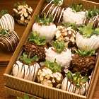 1 Dozen Gourmet Chocolate Dipped Strawberries