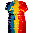 Tie Dye Rainbow Bath Robe