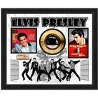 Elvis Presley Jailhouse Rock Gold Record Collectible