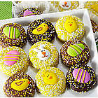 Happy Easter 16 Belgian Chocolate Covered Oreo Gift Tin