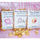 12 Personalized Caramel Corn Wedding Party Favors