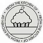 Cupcake Self-Inking Circle Stamp