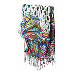 Fringed Marina or Sun Scarf