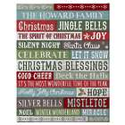 Personalized Christmas Blessings Canvas Art Print