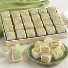 24 Green and Gold Cake Bites Gift Box