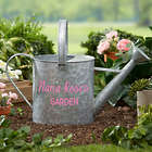 Personalized Galvanized Garden Watering Can