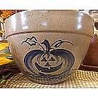 Jack o'Lantern Pottery Candy Bowl