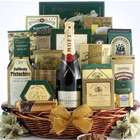 Best Wishes for The New Year Champagne Gift Basket