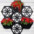 Recycled Plastic Wall Art Planter