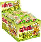 eFrutti Gummi Sour Mini Burgers - 60 Count Box