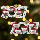 Personalized 2017 Family Holiday Ornament