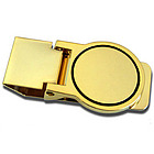 Personalized Round Money Clip
