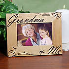 Personalized Grandma and Me Picture Frame