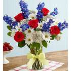 Tie a Yellow Ribbon Patriotic Bouquet
