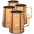 4 Koln Copper Beer Tankards