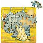 Elephant Family Wooden Jigsaw Puzzle