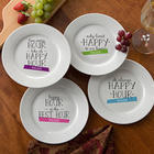 Happy Hour Personalized Cocktail Plates