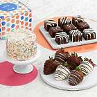 Sweet Birthday Surprises Cake, Candy & Chocolates Gift Box