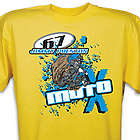 Personalized Motocross Graphic T-Shirt