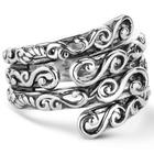 Sterling Silver Scroll Work Ring