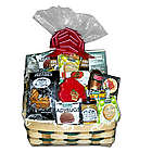 Wisconsin Favorites Cheese And Sausage Gift Basket