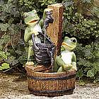 Outdoor Frog Fountain