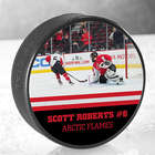 My Photo Personalized Official Hockey Puck