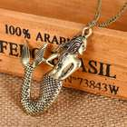 Mythical Mermaid Siren Necklace