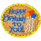 "Birthday Balloons 12"" Cookie Cake"