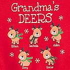 Personalized Her Little Deers Sweatshirt