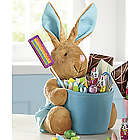 Blue Bunny Candy Basket