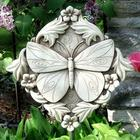 Acanthus Butterfly Outdoor Wall Plaque