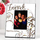 Personalized Cheerful Bouquet Friendship Picture Frame